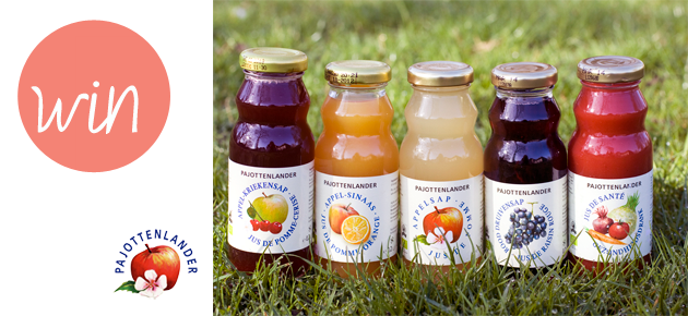 Win een lekker setje vruchtensapjes van Pajottenlander!