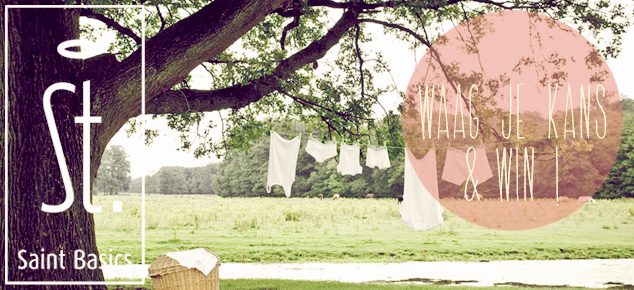 Win een cadeaubon voor stijlvol eco ondergoed van Saint Basics!