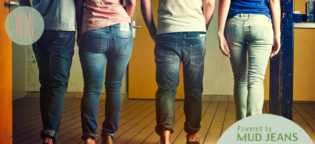 Win een gratis Lease Jeans van Mud Jeans!