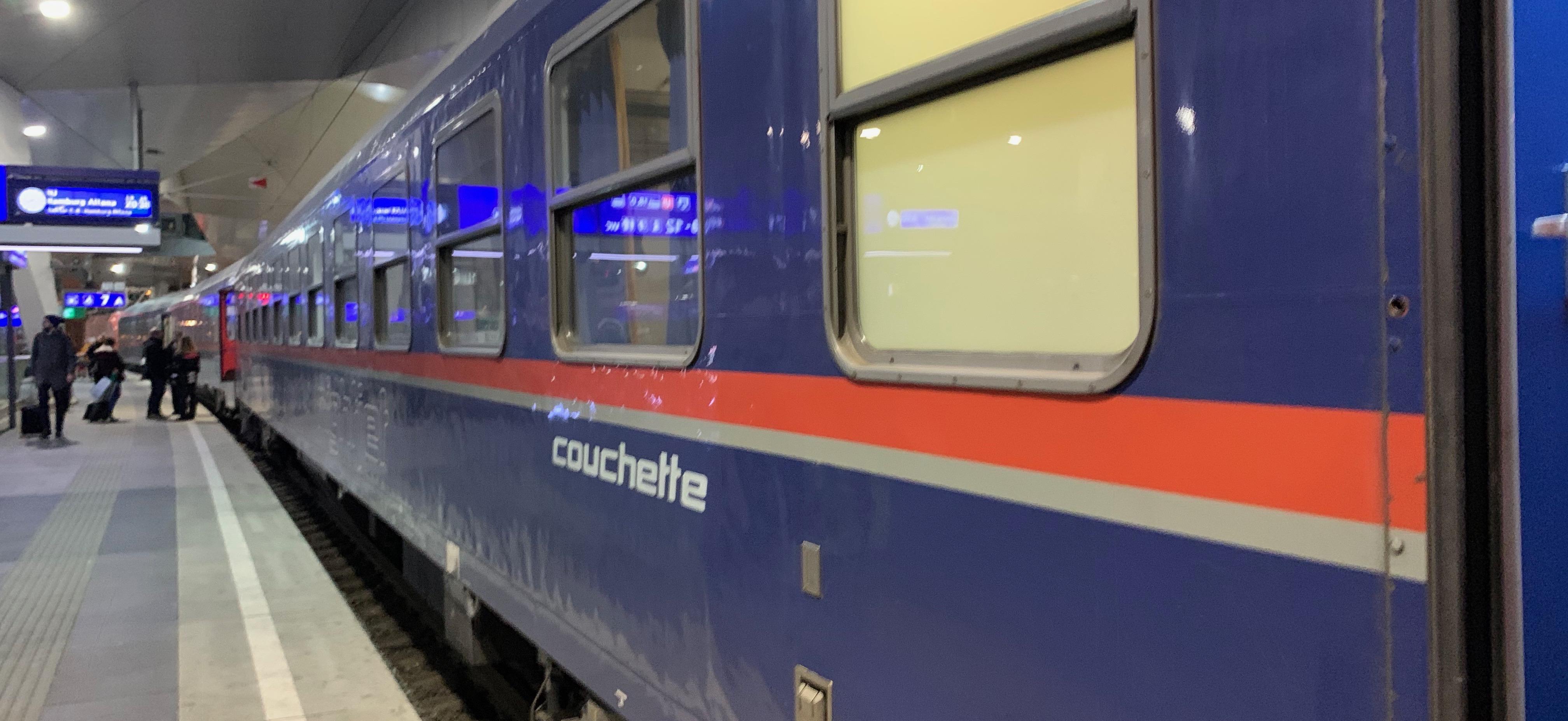 Acht tips voor wie de nachttrein naar Wenen neemt