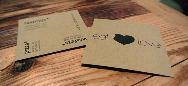 Eat Love, wanneer eten liefde is