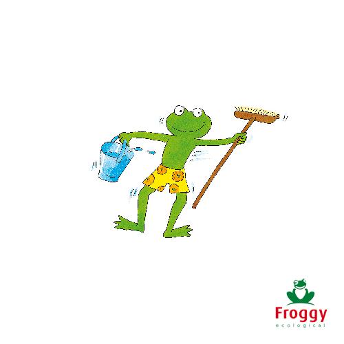 Froggy kiest voor gerecycleerde PET