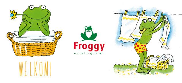 Welkom Froggy!