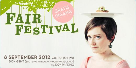 I Love Eco loopt rond op het Fair Festival! Komen jullie ook?