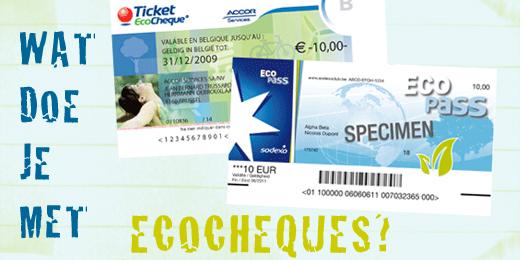 Ecocheques? Check!